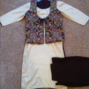 Dresses & Skirts - Palazzo (pant) jacket suit (designer)